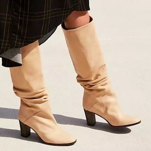 Free People Tennison Pull On Boot Leather Tan 36